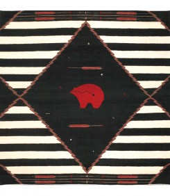 Bear Clan Chief, Indigo Red