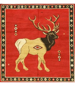 Elk, Red Indigo