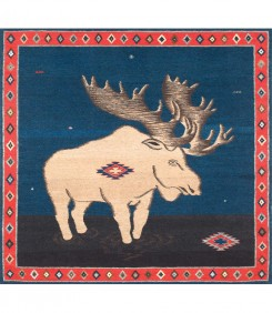 Moose, Indigo Red