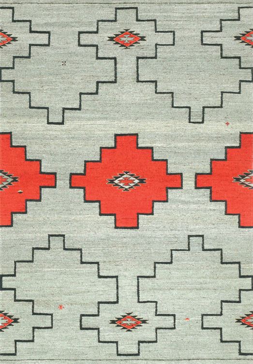 Navajo Inspired, Sage Red