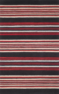 Stripes, Red Chocolate Cadet