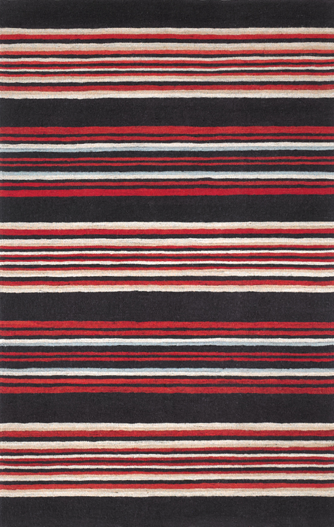 Stripes, Red Chocolate Cadet