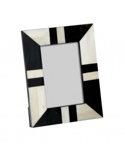 3177-7_Bone_and_Horn_Striped_Picture_Frame