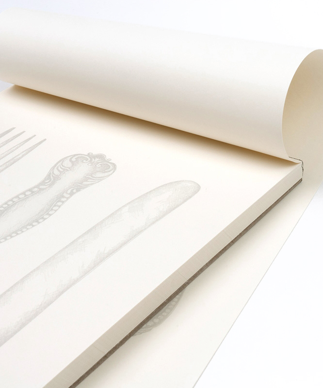 Fork Knife Spoon Notepad