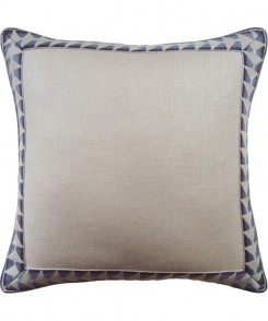 Chequer Border Pillow Harbor