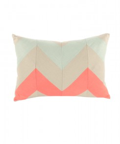 Colorful Chevron Pillow
