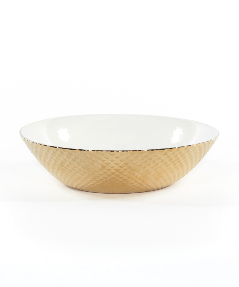 Diamond Cut Bowl