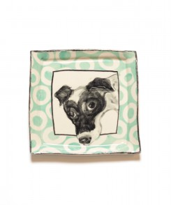 Artisan Jack Russell Plate