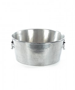 Hammered Silver Party Bucket