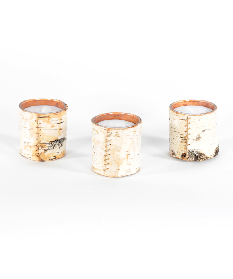 Birch Tealight Holder