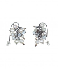 5419-25_Pearl_&_Crystal_Cluster_Earrings