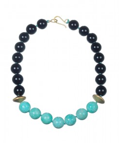 C150-74_Russian_Amazonite_&_Onyx_Necklace_1