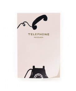 Vintage Telephone Notepad