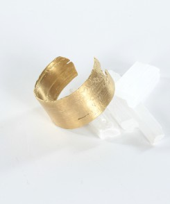 Birch Brass Cuff Bracelet