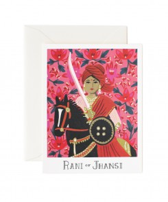 Jani of Jhansi Card