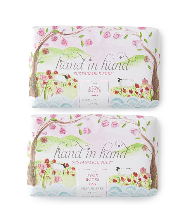 Rose Water Hand Soap