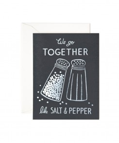 Salt and Pepper Card