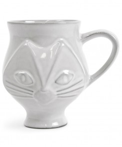 Ceramic Angular Cat Mug