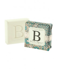 Letter B Monogram Bar Soap