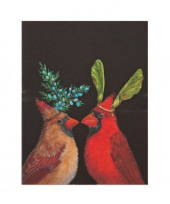 Cardinal Wedding Card