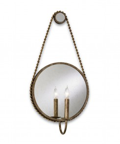 Rope Mirror Sconce