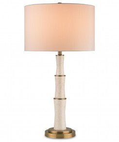 Marble Tiered Table Lamp