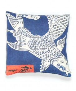 Japanese Koi Pillow