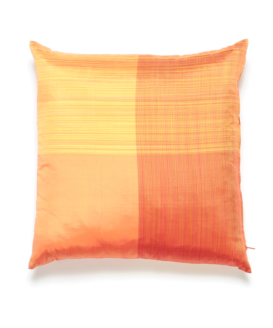 Striped Thai Silk Pillow