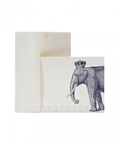 Royal Elephant Notecards