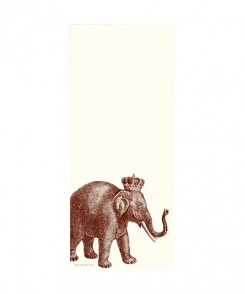 Royal Elephant Notepad