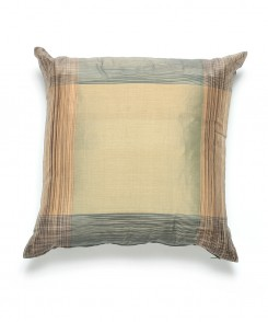 Sage and Blue Green Thai Silk Pillow