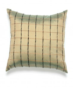Sage Green Thai Silk Pillow