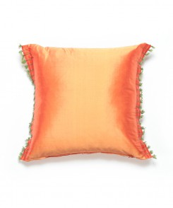 Thai Silk Pillow with Fringe