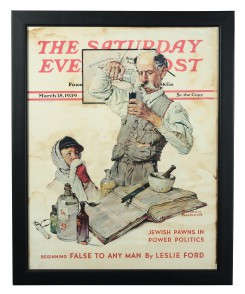 The Saturday Evening Post 'Pediatrician' Poster