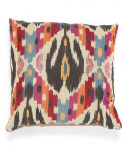 Colorful Ikat Pillow