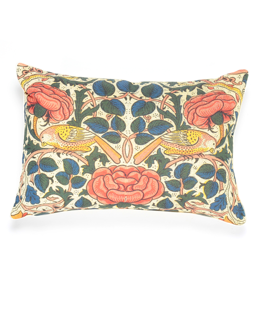 Birds on a Thistle Pillow