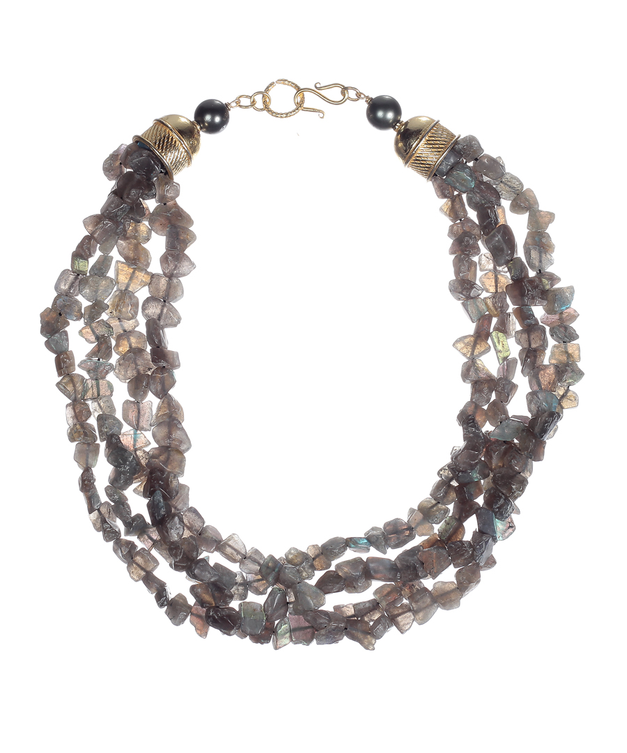 necklace products aria the antique artisan tribe gold labradorite choker