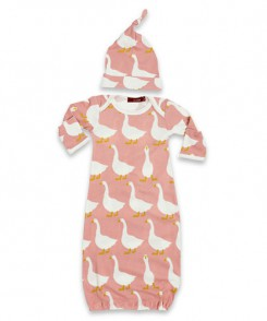 Goose Gown and Hat Set