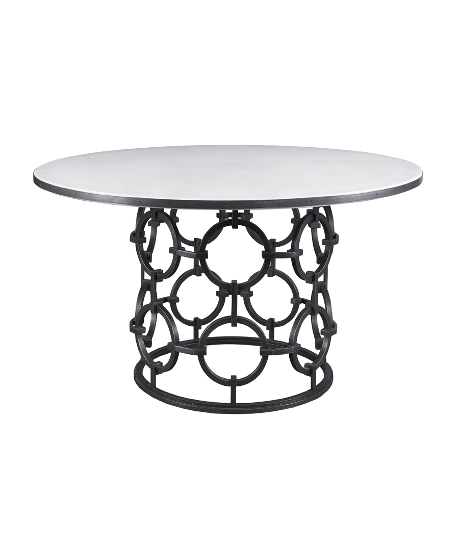 Seaton Dining Table with Stone Top