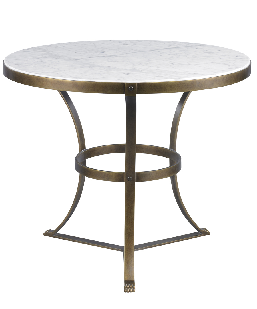 Aged Gold Piers Side Table