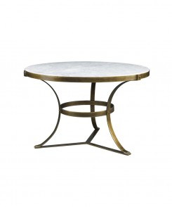 Aged Gold Piers Center Table