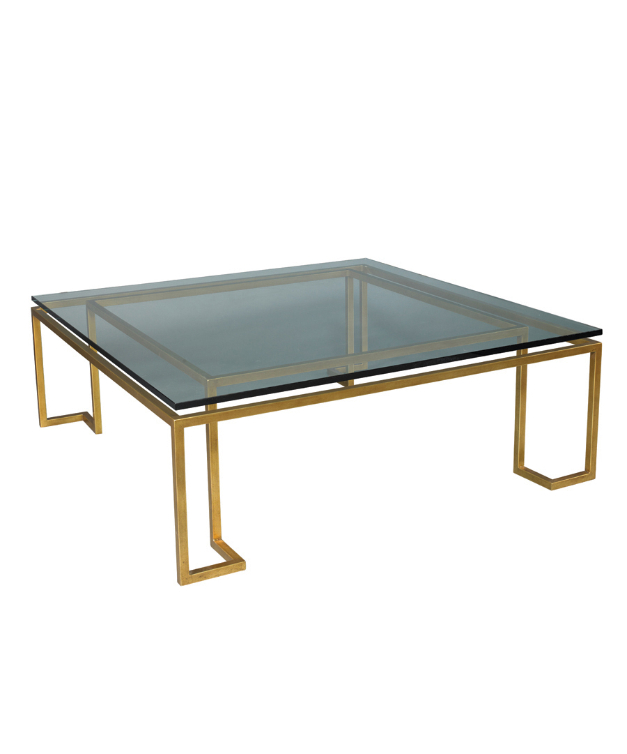 Glass Reid Cocktail Table