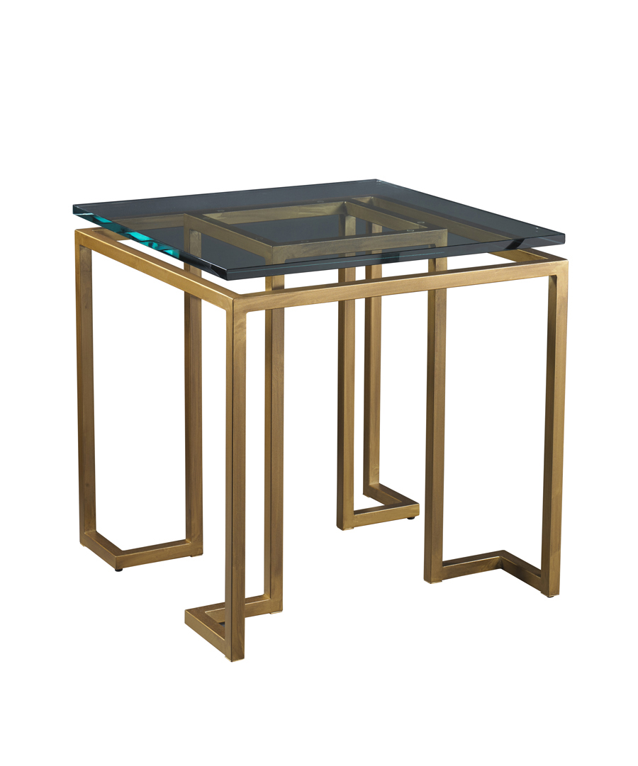 Glass Reid Side Table