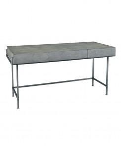 Charcoal Simone Shagreen Desk