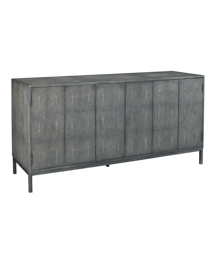 Charcoal Ford Shagreen Console