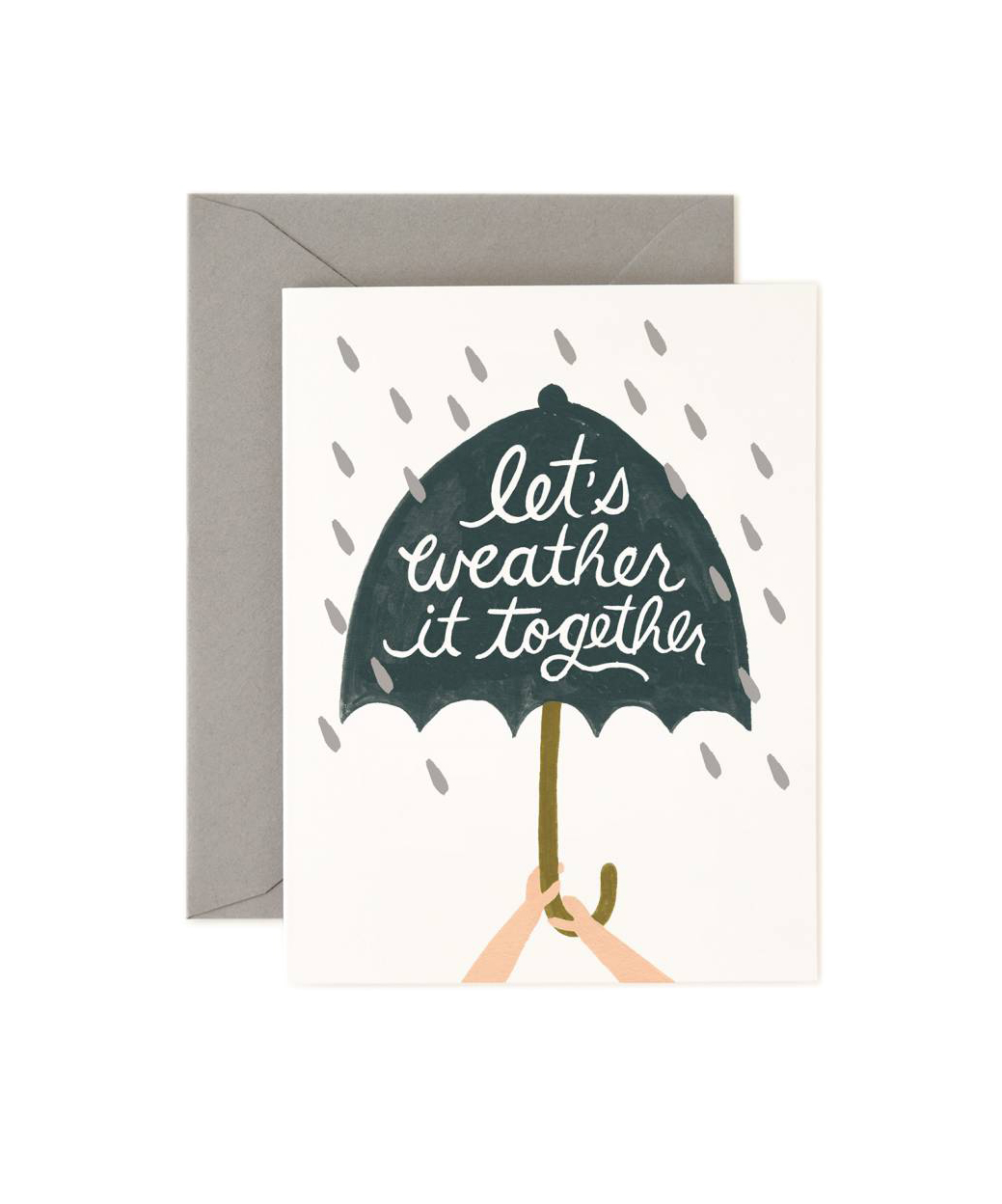 Weather It Together Card