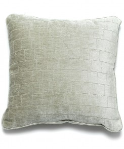 Velvet Grid Pillow