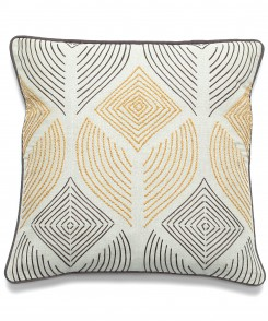Abstract Leaf Pillow