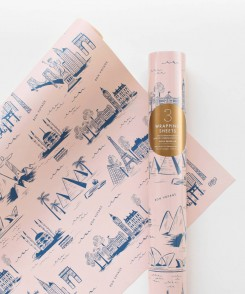 City Toile Wrapping Sheets