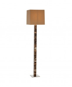 Faux Horn Floor Lamp
